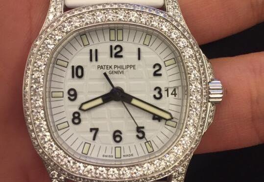 Diamentowy Luksus Replika Patek Philippe Aquanaut 5069G-011