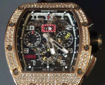 Ograniczona Replika Richard Mille RM011 Diamond Case