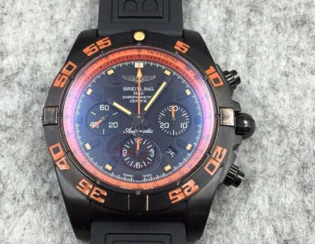 Replika Breitling Chronomat Raven Blacksteel MB0111C2