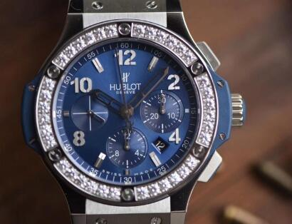 Replika Hublot Big Bang 341.SX.7170.LR.1204 Diament