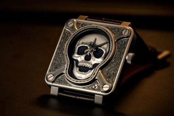 Bell & Ross BR-01 Luksusowa Replika Zegarka Burning Skull