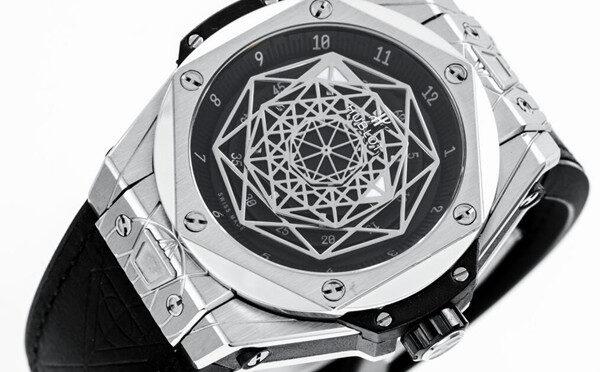 Modny Zegarek Repliki Hublot Big Bang 415.NX.1112.VR.MXM16 Sang Bleu Titanium Pave