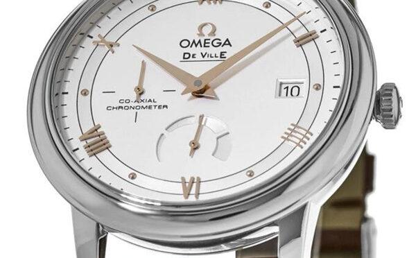 Omega De Ville Prestige Series 424.13.40.21.02.002 Tani Zegarek Repliki