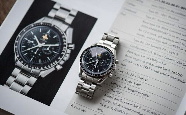 Omega Speedmaster Professional Moonwatch 311.30.42.30.01.001 Wysokiej Jakości Replika Zegarka