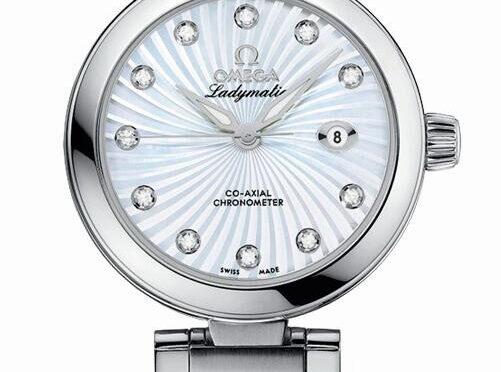 Doskonały Repliczny Damski Zegarek Omega De Ville Ladymatic