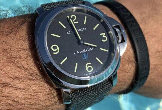 Wysokiej Jakości Replika Zegarka Panerai Luminor Base Logo PAM 00774