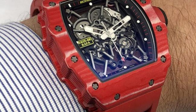 Replika Zegarka Wysokiej Jakości Richard Mille Rafael Nadal RM35